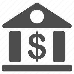 bank building, banking, corporation, dollar, finance, financial center, money icon