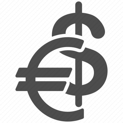business, cash, currency, dollar, euro, fiat money, finance icon