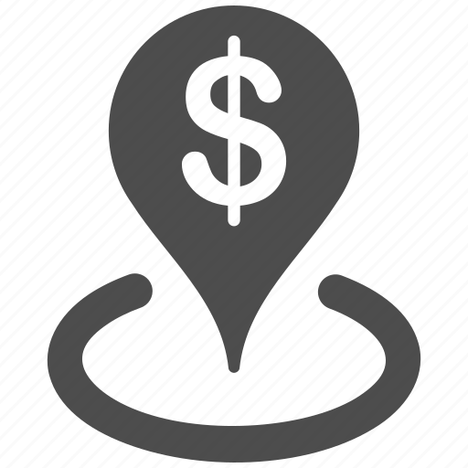 bank location, center, company, finance, geo targeting, pointer, target icon