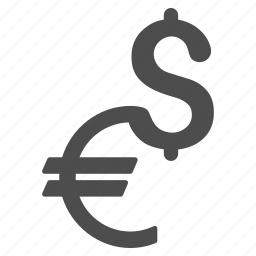 business, currency, dollar, economy, finance, financial, money exchange icon