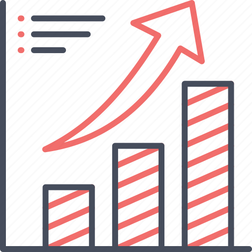 business, graph, grow, growth, report icon