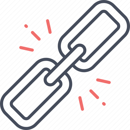 business, chain, connection, joint, link, linkage, tie-up icon