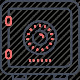 business, lock, locker, money, safe, secure icon