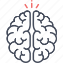 brain, creative, thinking, thoughts icon