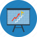 analytics, business, chart, finance, goal, statistics icon