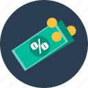 business, cash, dollar, finance, pay, taxes icon