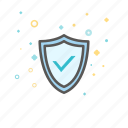 banking, business, finance, safe, security, shield icon