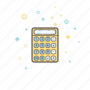 banking, business, calculator, finance, money icon