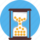 earnings, financial, hourglass, hourly, hourly payment, money, scheduled icon