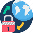 country, lock, locker, national, password, security, world icon