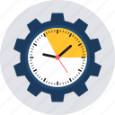 alarm, clock, time, timepiece, timer, wall clock, watch icon