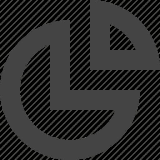 analytics, chart, growth, pice icon