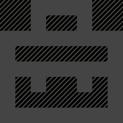 briefcase, portfolio, profile icon