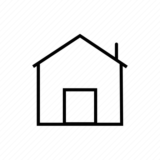 building, cottage, home, homepage, house, property, safe home icon