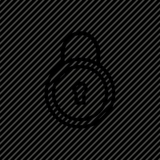 deadlock, lock, password, privacy, protect, safeguard, security lock icon