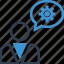 analytics, analyze, data, grow, money, options, think icon