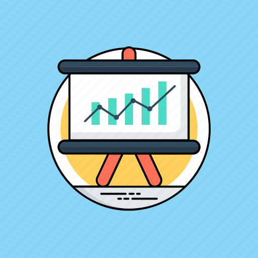 business graph, consumer trends, market research, market trend, marketing strategy icon
