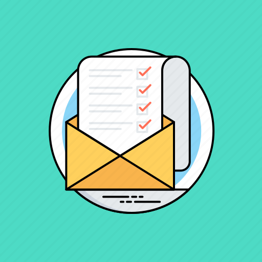 direct email, email marketing, email recipients list, email records, mailing list icon