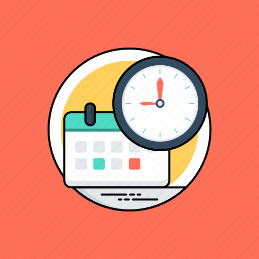 planner, time management, time schedule, time to plan, timing icon