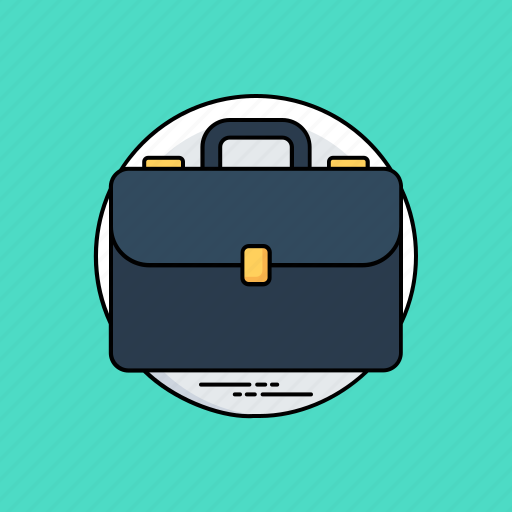 briefcase, business case, documents case, office bag, portfolio bag icon