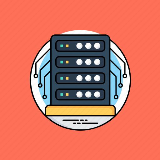 database architecture, database server, shared web hosting, web hosting service, web server icon