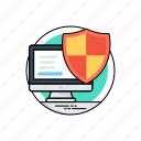 antivirus, computer antivirus, internet security, virus protection, web safeguard icon