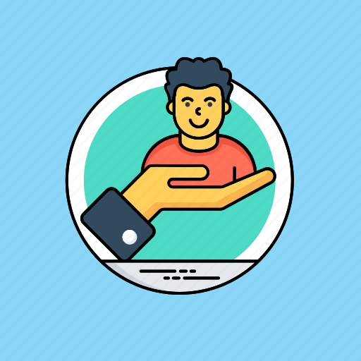 employment, hiring employee, human resource, recruitment, talent search icon