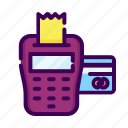 bill, business, credit card, payment, transfer icon