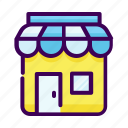 business, marketplace, shop, stall, store icon