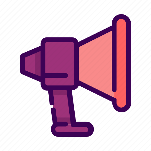 business, promote, sound, speaker icon