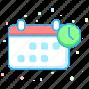 calendar, clock, date, event, schedule, time