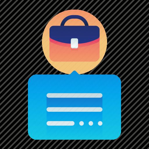 Business, description, employee, employment, job icon - Download on Iconfinder