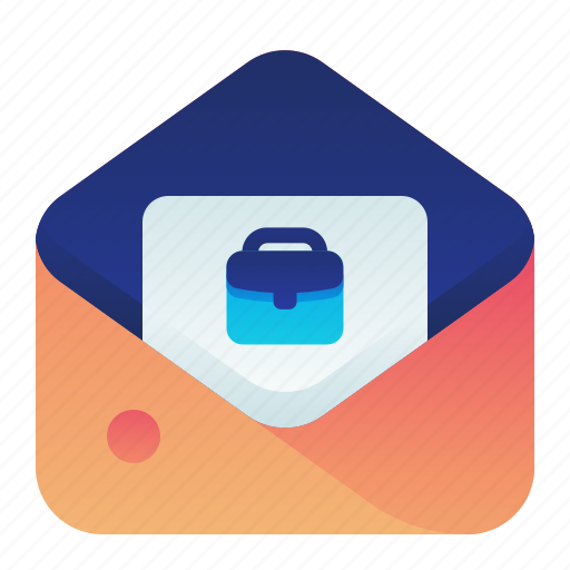 Business, employment, job, letter, mail icon - Download on Iconfinder