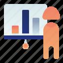 business, chart, female, presentation, woman