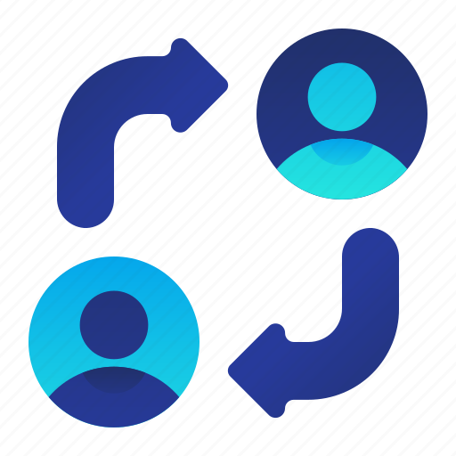 employee, male, man, replace, replacement icon