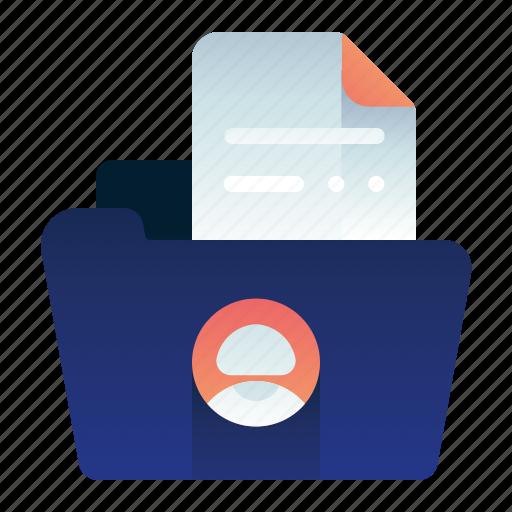 employee, female, file, folder, woman, workers icon