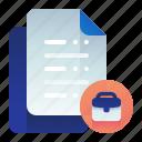 agreement, document, documentation, work, working
