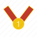 award, best, first, winner icon