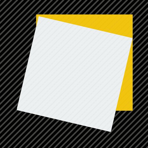 idea, note, paper, quick, stick icon