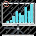 analytics, board, business, chart, graph, presentation, statistics