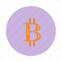 bitcoin, cryptocurrency, payment icon