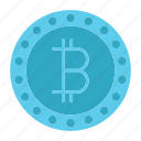 bitcoin, blockchain, crypto, cryptocurrency, digital currency, mining icon