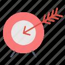 aim, bullseye, business and finance, focus, goal, target icon