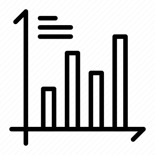 analysis, chart, growth, investment, market, report icon