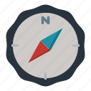 compass, direction, north, trend, way icon