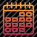 calendar, event, planning, schedule icon