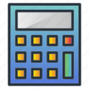 accounting, business, calculator, machine, math icon