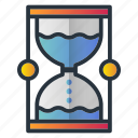 clock, deadline, strategy, time is money, timer, water icon