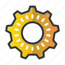 cog, gear, management, production, productivity icon
