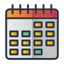 calendar, event, planning, schedule icon
